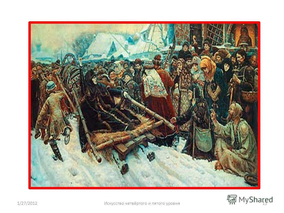 1/27/201213Искусство четвёртого и пятого уровня