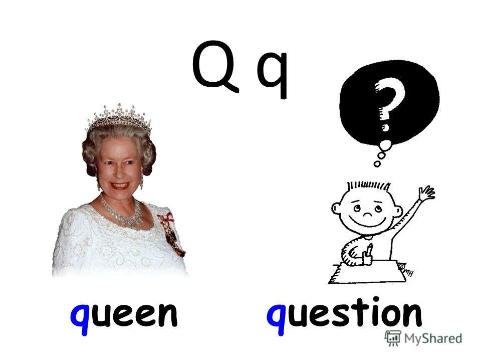 Q q queenquestion