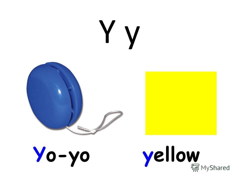 Y y Yo-yoyellow