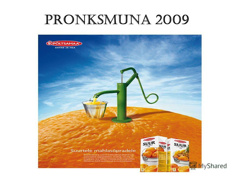Pronksmuna 2009