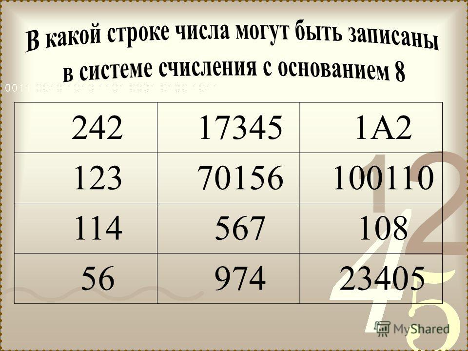 242173451А2 12370156100110 114567108 5697423405