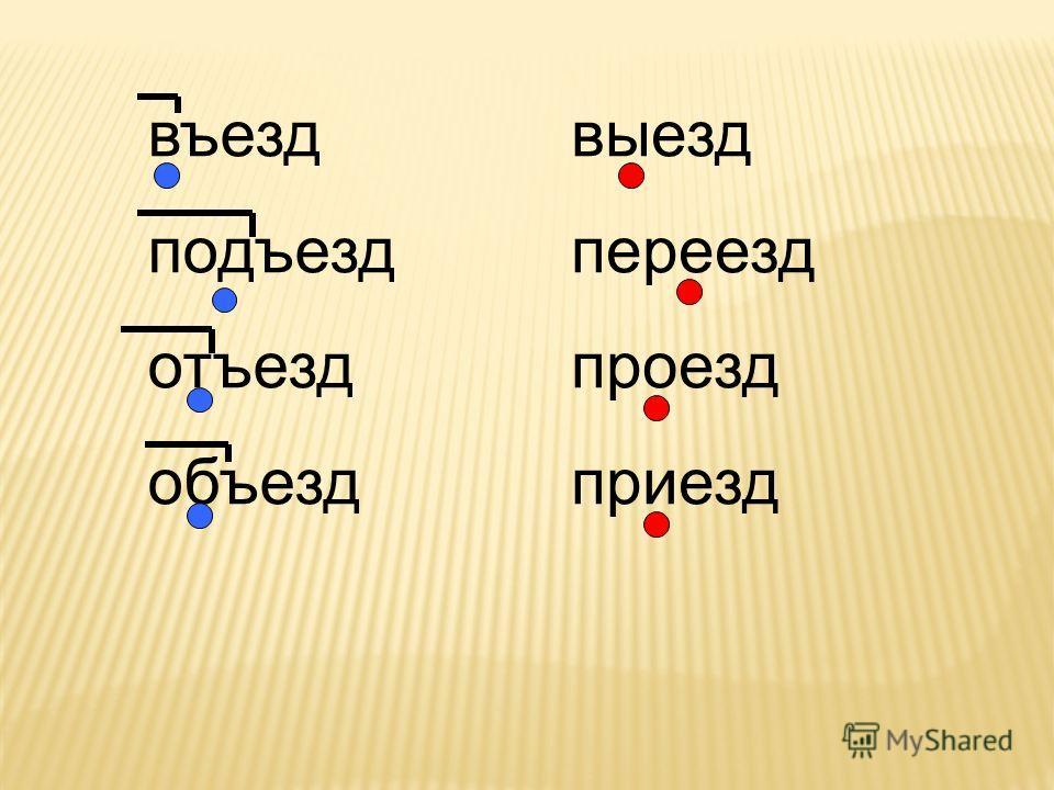 в под от с