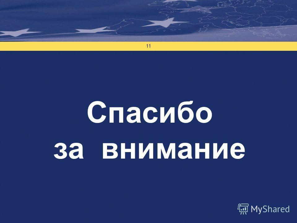 Проект финансируется Европейским Союзом 11 Спасибо за внимание
