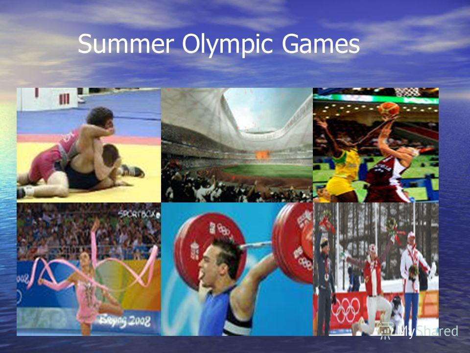 summer olympics The summer olympic games or the games of the olympiad are an international sporting event which are held every four years by the international olympic committeethe games, as they are often called, are held in a different city each time.