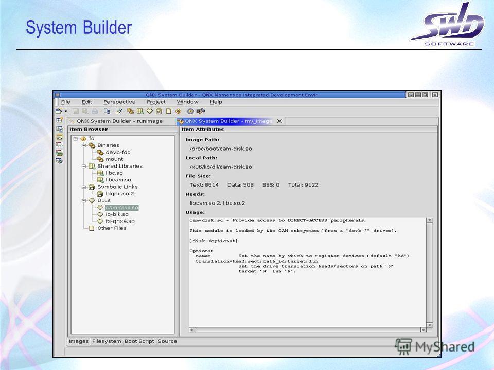 System Builder