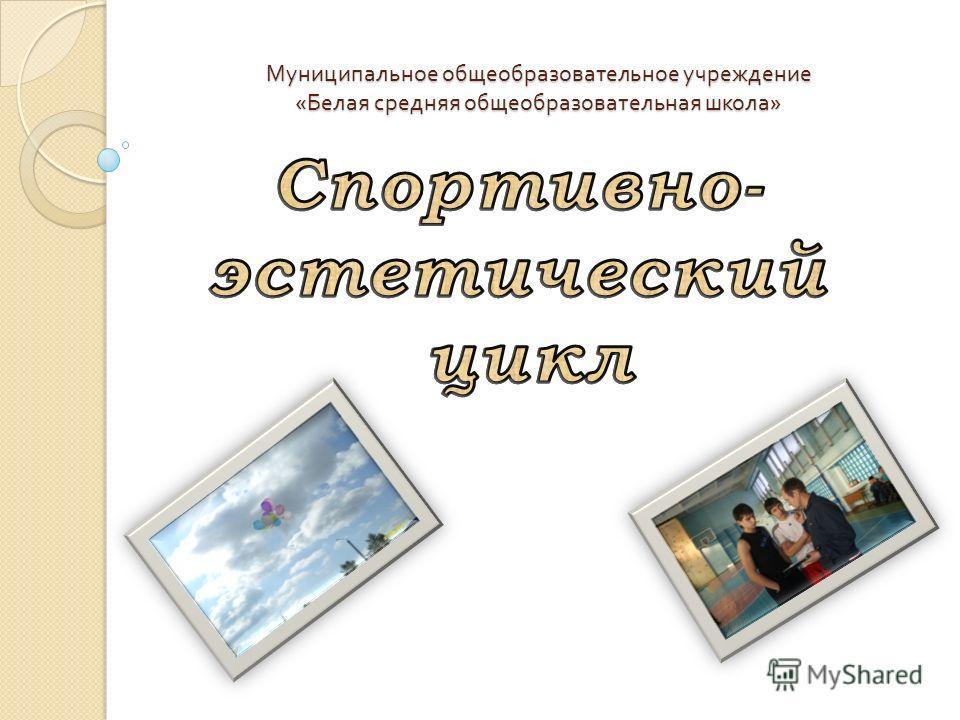 Муниципальное общеобразовательное учреждение « Белая средняя общеобразовательная школа »