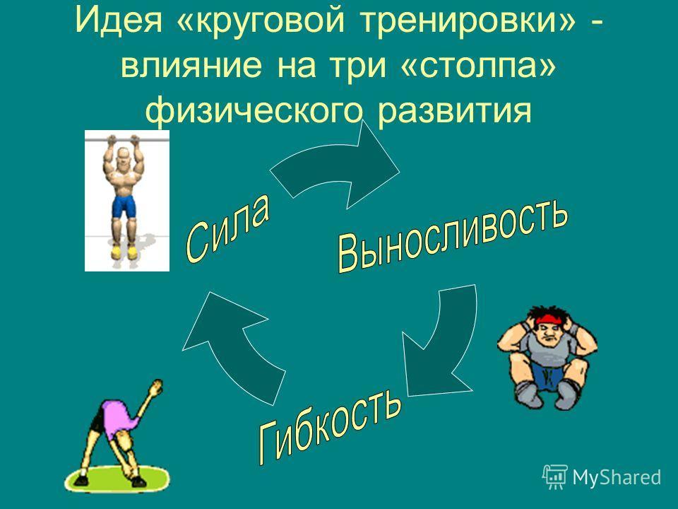 Идея «круговой тренировки» - влияние на три «столпа» физического развития