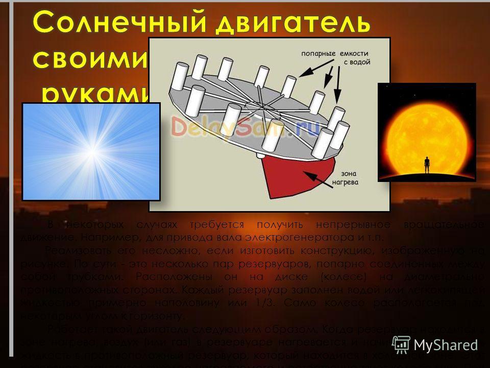 Если бы люди научились использовать солнечное излучение так, чтобы оно удовлетворяло наши потребности в энергии, многие глобальные проблемы были бы решены. Новая, более эффективная технология, освоенная на солнечной энергии не будет загрязнять окружа