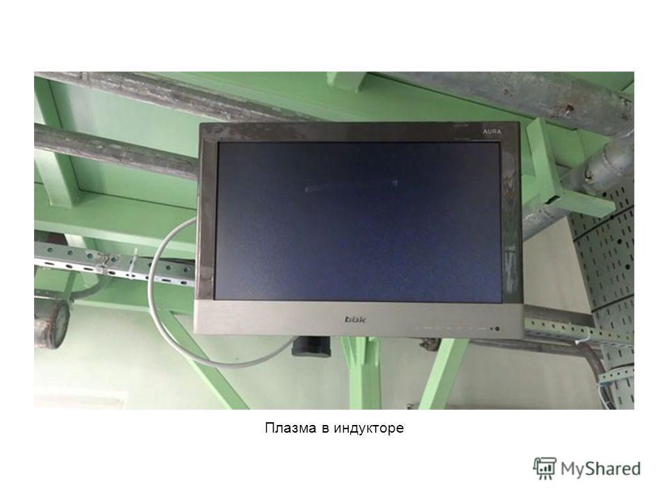 Плазма в индукторе