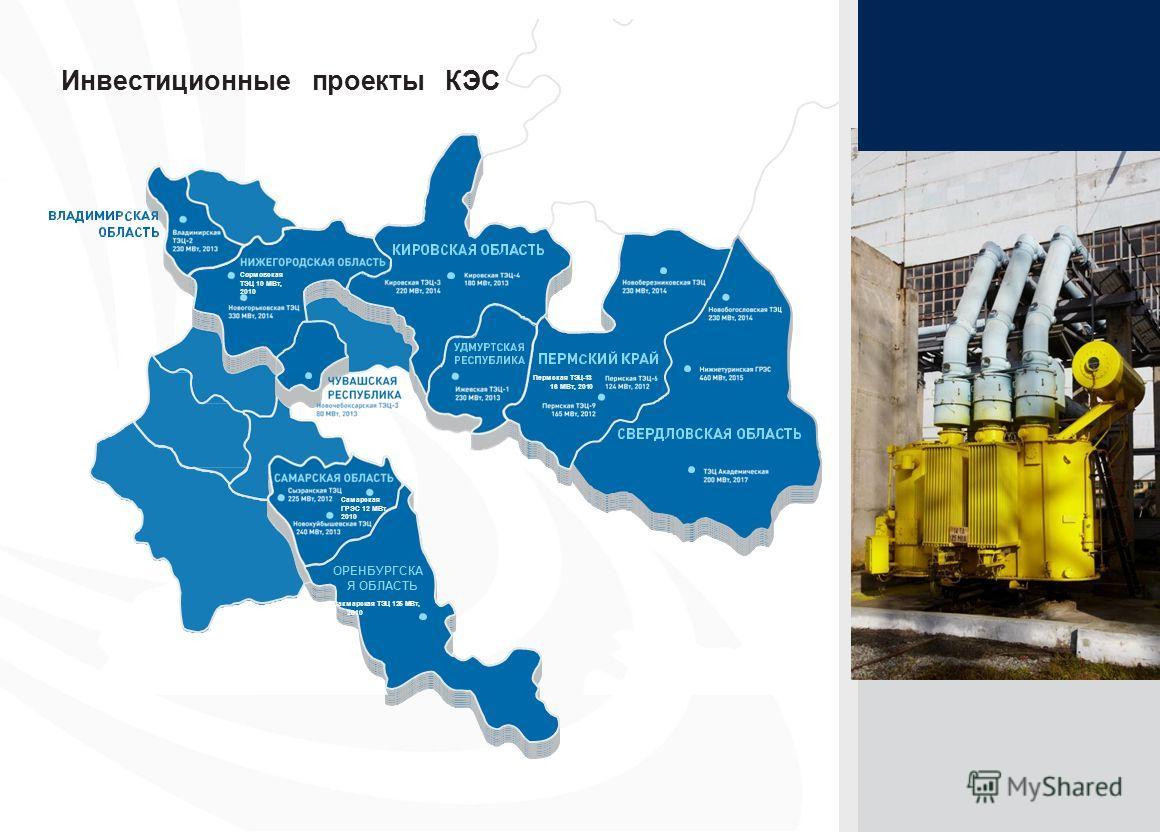 21 ОРЕНБУРГСКА Я ОБЛАСТЬ Сакмарская ТЭЦ 125 МВт, 2010 Самарская ГРЭС 12 МВт, 2010 Сормовская ТЭЦ 10 МВт, 2010 Пермская ТЭЦ-13 16 МВт, 2010 Инвестиционные проекты КЭС