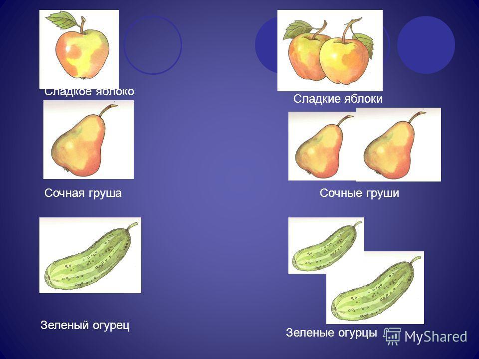 Сладкое яблоко Сладкие яблоки Сочная грушаСочные груши Зеленый огурец Зеленые огурцы