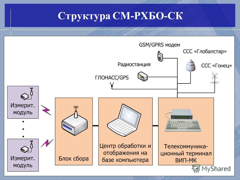 Структура СМ-РХБО-СК