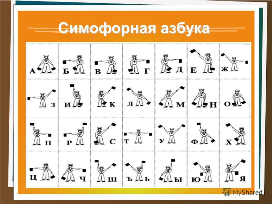 Симофорная азбука