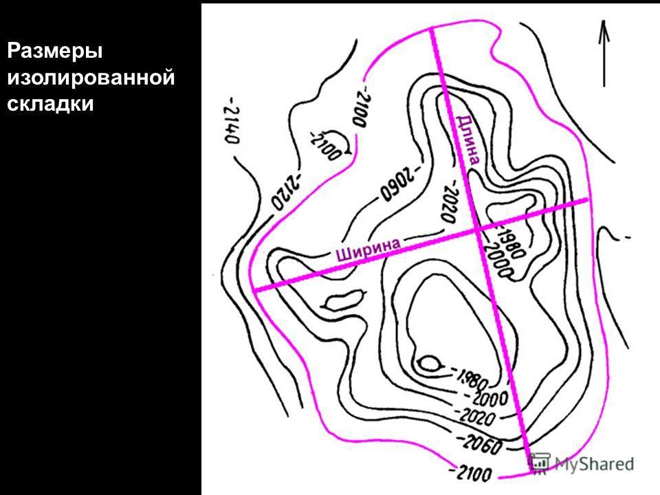 Геологи-2012- л-7 17 Размеры изолированной складки