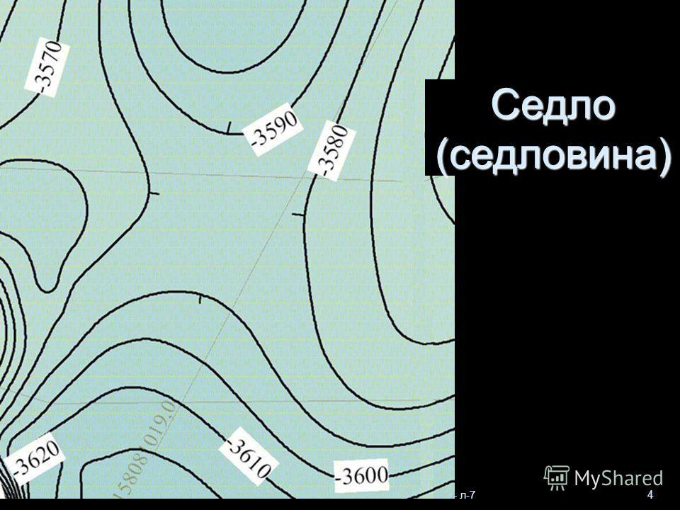 Геологи-2013- л-7 4 Седло (седловина)
