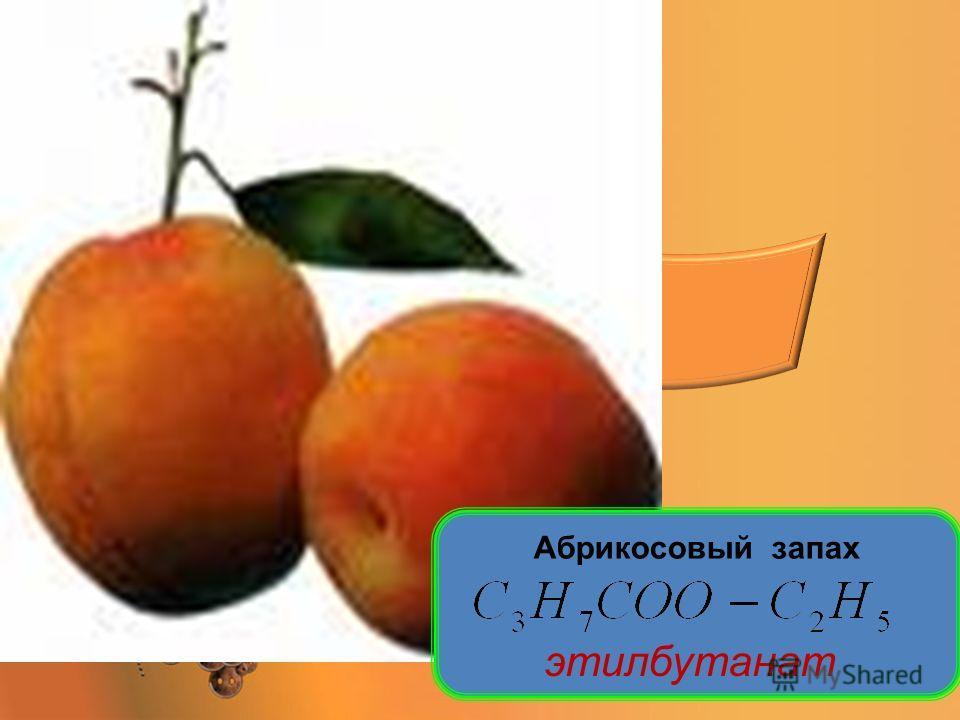 Абрикосовый запах этилбутанат