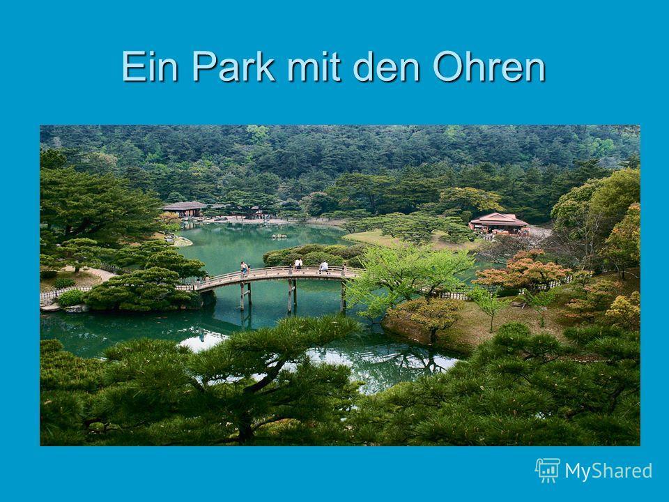 Ein Park mit den Ohren