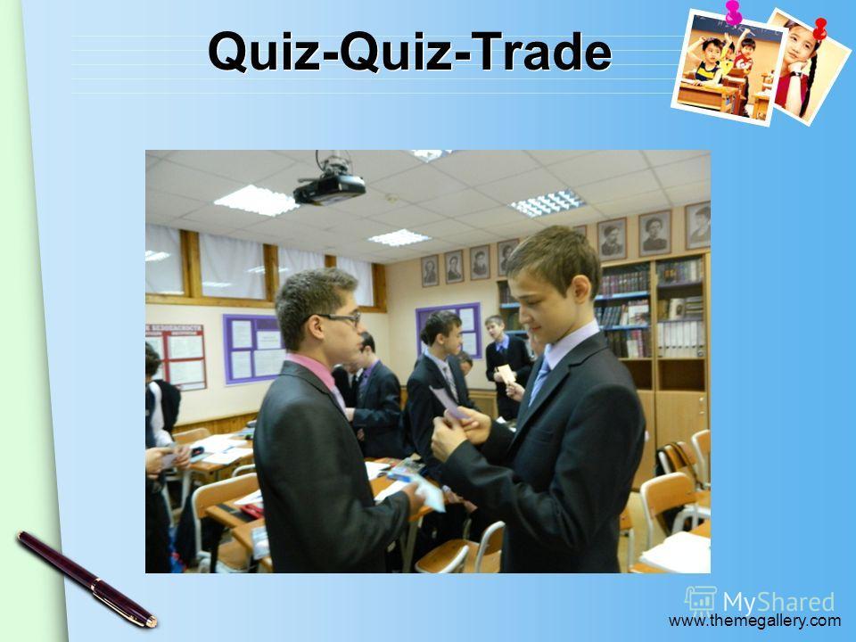 www.themegallery.com Quiz-Quiz-Trade