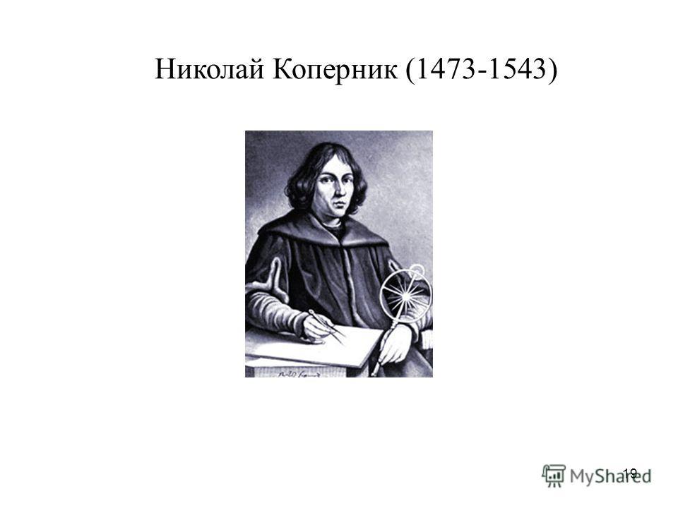 19 Николай Коперник (1473-1543)