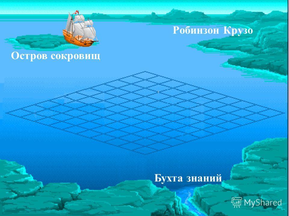 Робинзон Крузо Остров сокровищ Бухта знаний