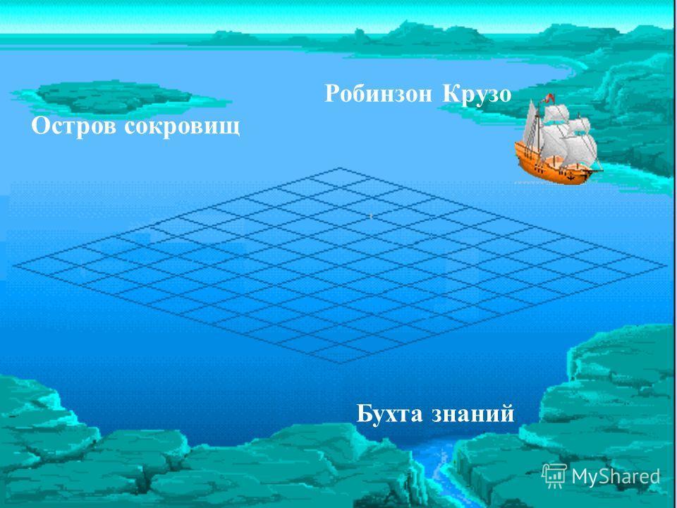 Робинзон Крузо Бухта знаний Остров сокровищ