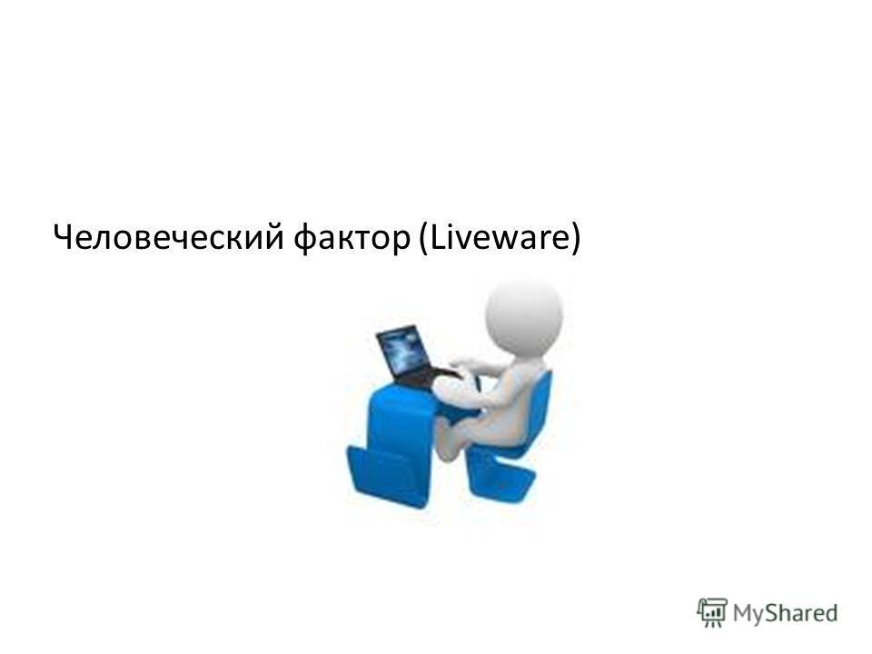 Человеческий фактор (Liveware)