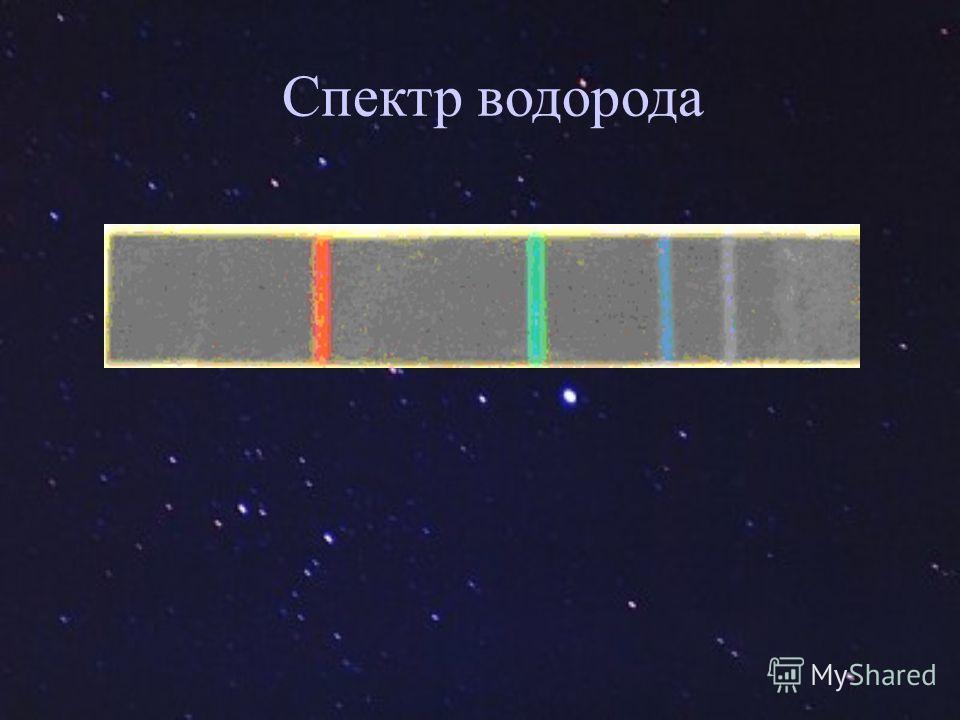 Спектр водорода