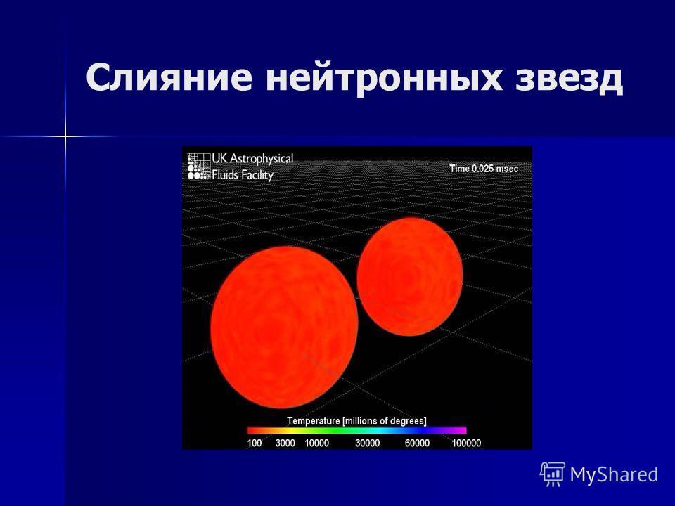 Слияние нейтронных звезд