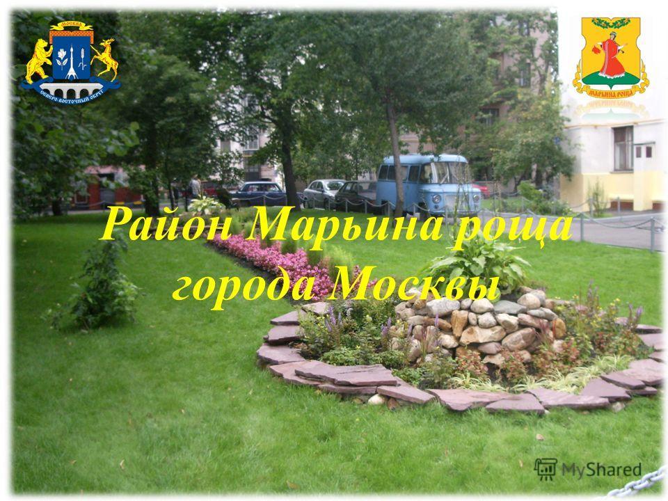 Район Марьина роща города Москвы