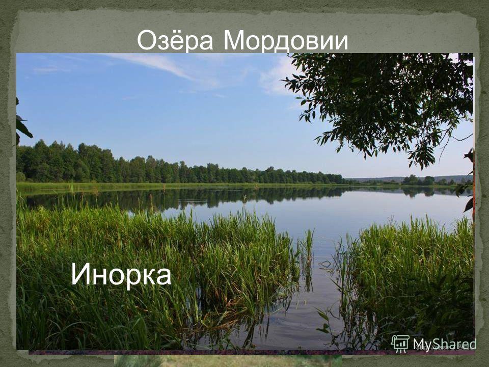 Озёра Мордовии Инерка Ендовище Инорка