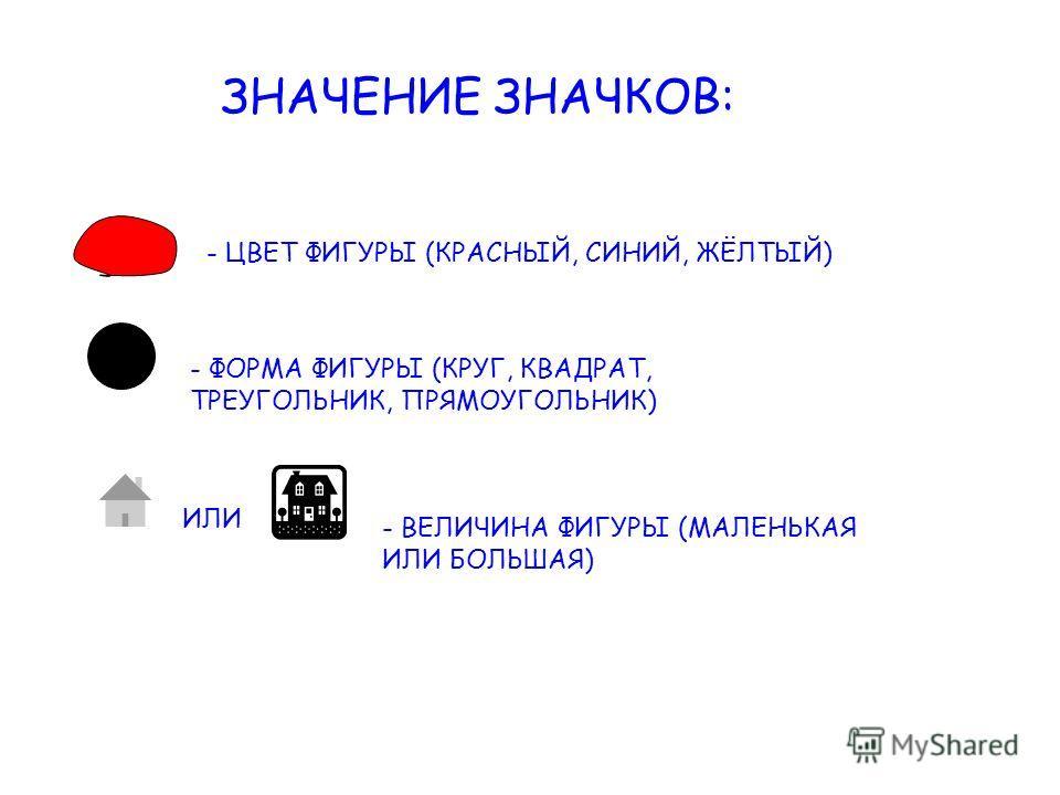 Цель: Развитие логического мышления детей посредством блоков Дьенеша
