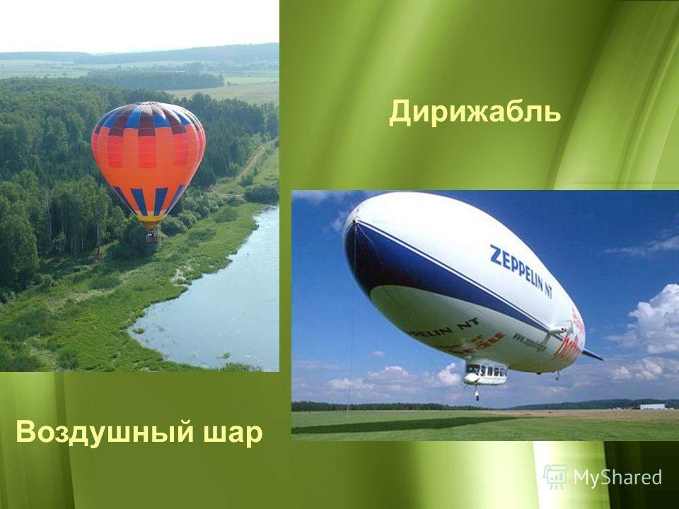 Воздушный шар Дирижабль