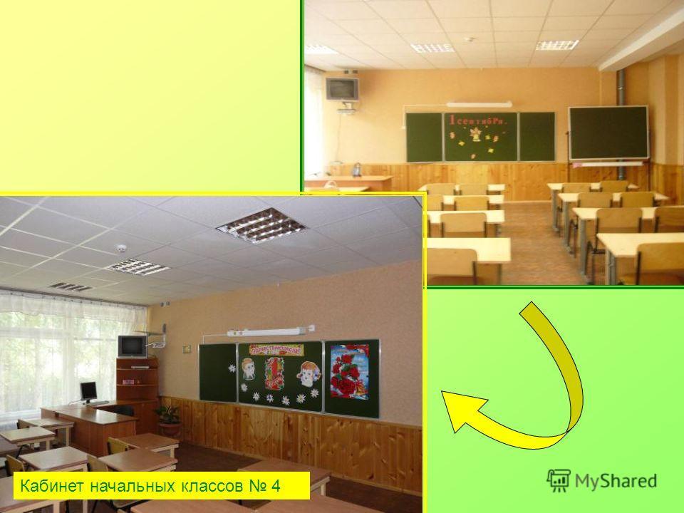 Кабинет начальных классов 4