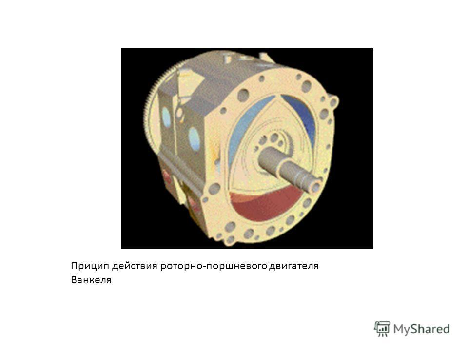 Прицип действия роторно-поршневого двигателя Ванкеля