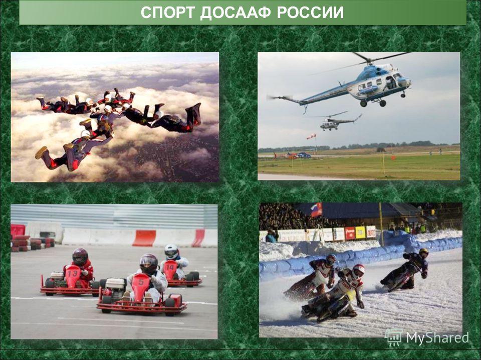 СПОРТ ДОСААФ РОССИИ