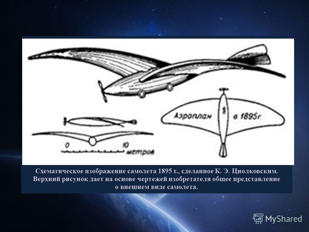 Циолковским явился первым идеологом и теоретиком освоения человеком космического пространства, конечная цель которого представлялась ему в виде полной перестройки биохимической природы порождённых Землёй мыслящих существ. В связи с этим он выдвигал п