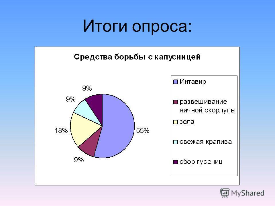 Итоги опроса: