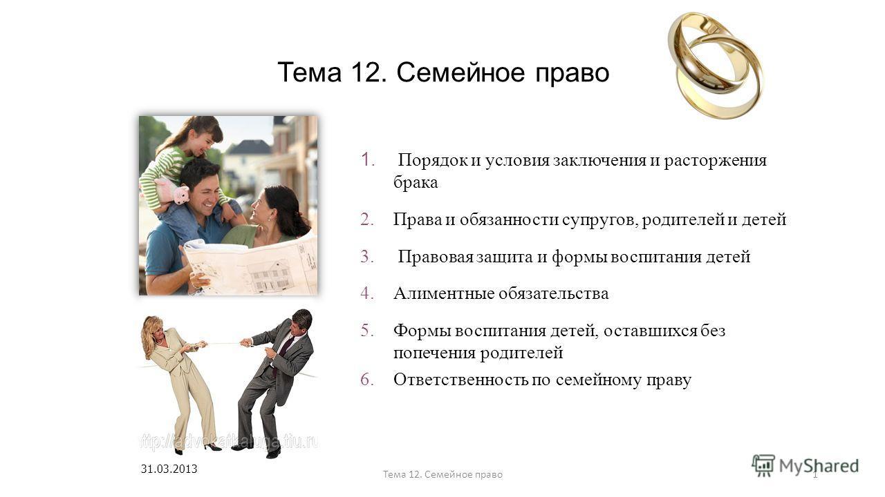 Имущественные права и обязанности родителей