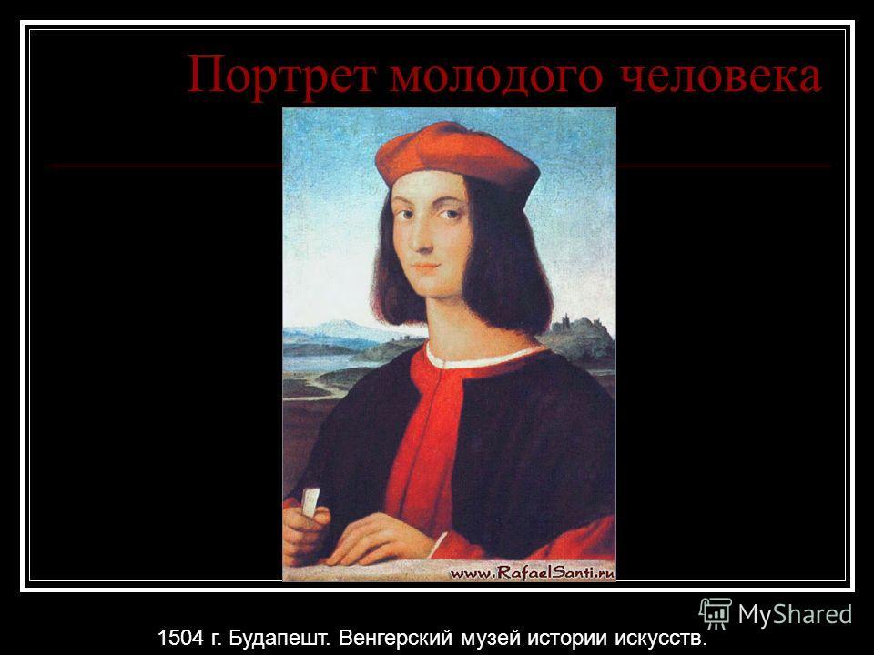 Портрет молодого человека 1504 г. Будапешт. Венгерский музей истории искусств.
