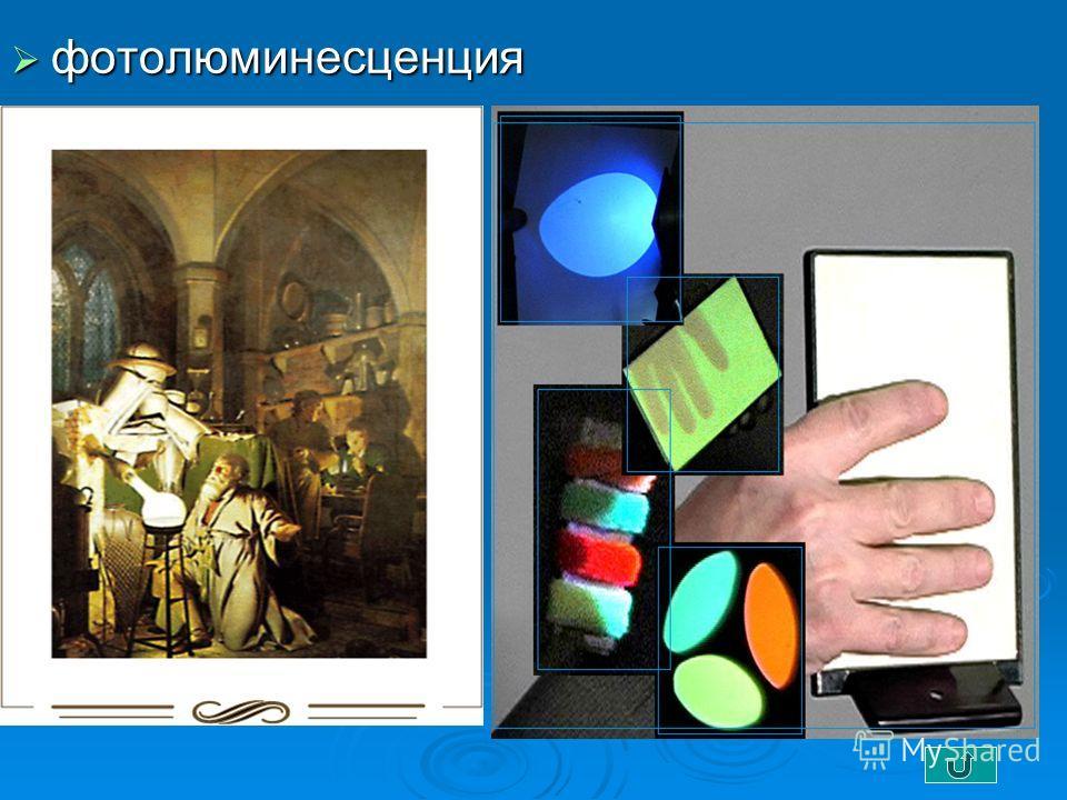 фотолюминесценция фотолюминесценция