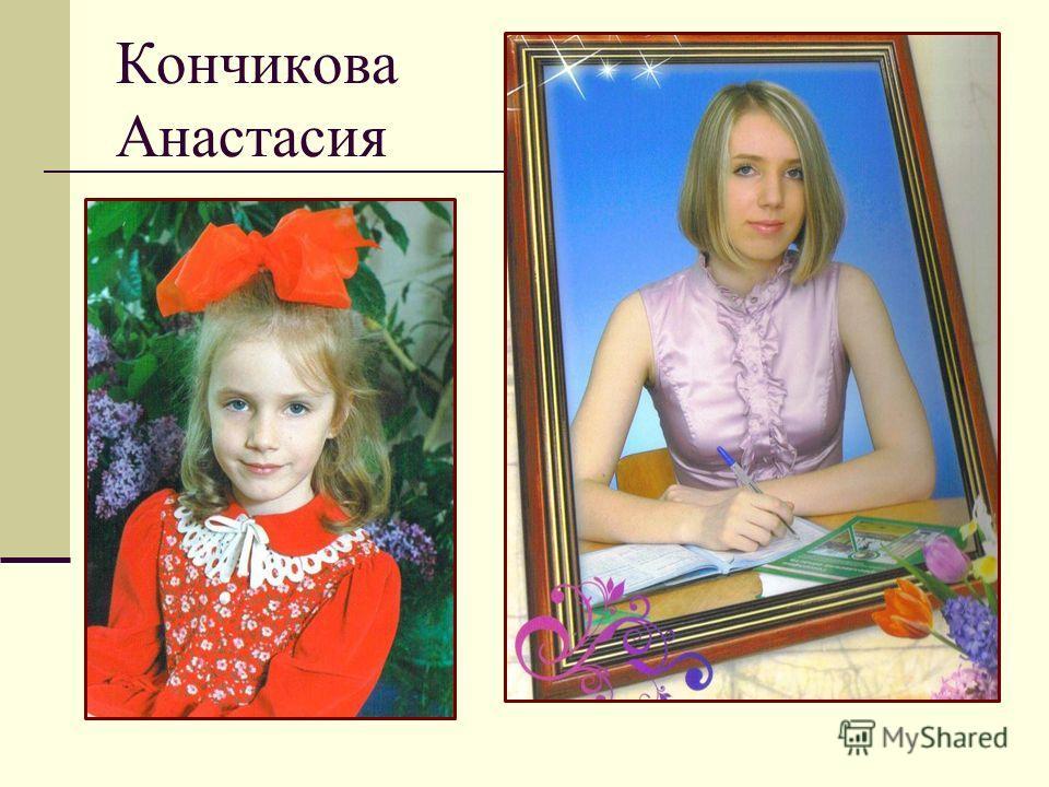Кончикова Анастасия