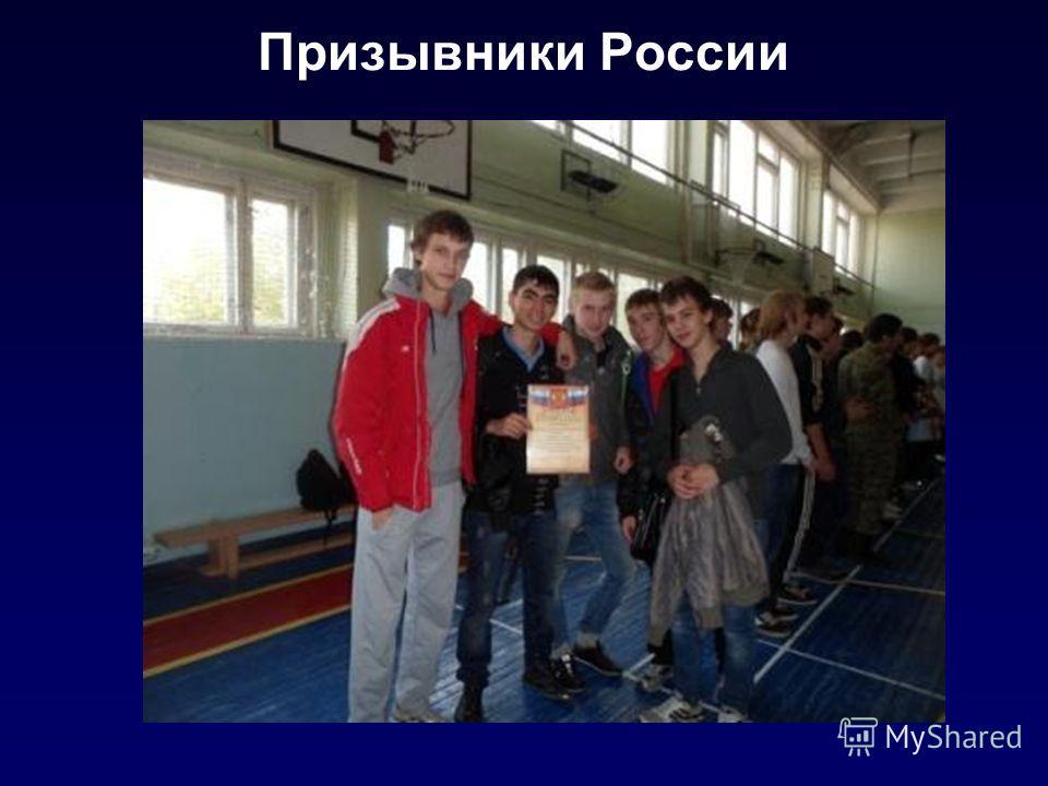 Призывники России