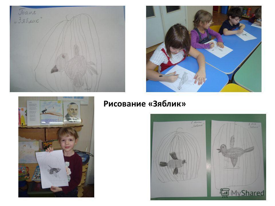 Рисование «Зяблик»