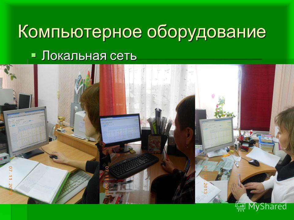 Компьютерное оборудование Локальная сеть Локальная сеть