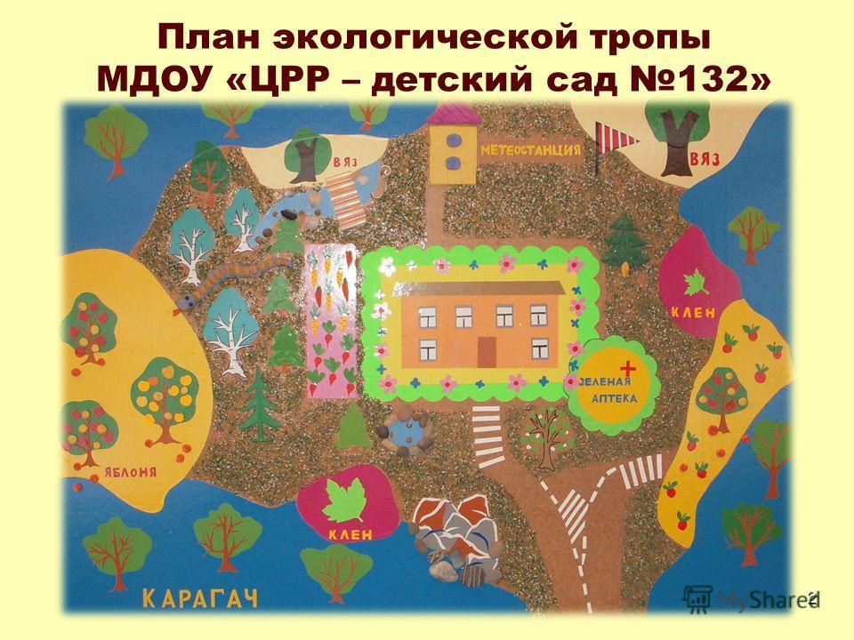 2 План экологической тропы МДОУ «ЦРР – детский сад 132»