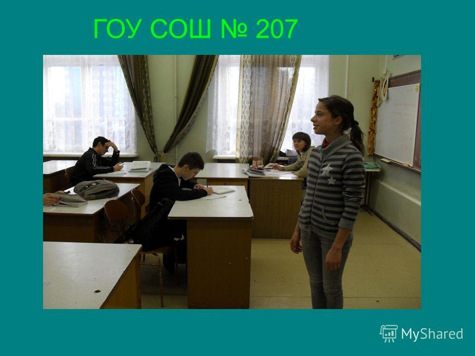 ГОУ СОШ 207