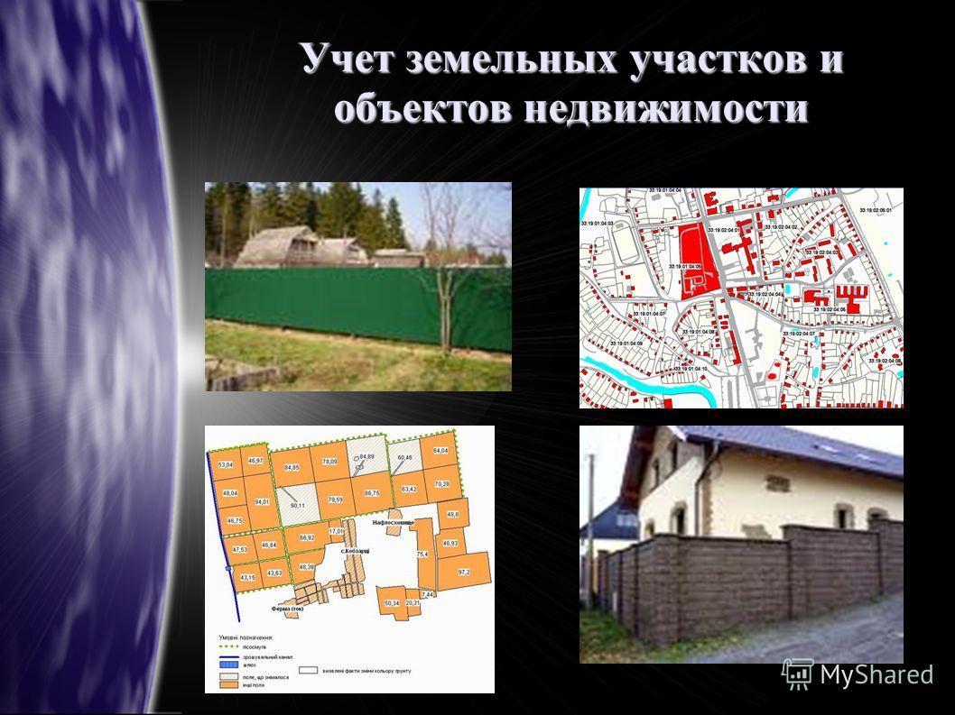 Учет земельных участков и объектов недвижимости