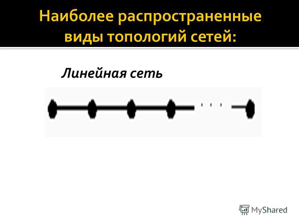 Линейная сеть