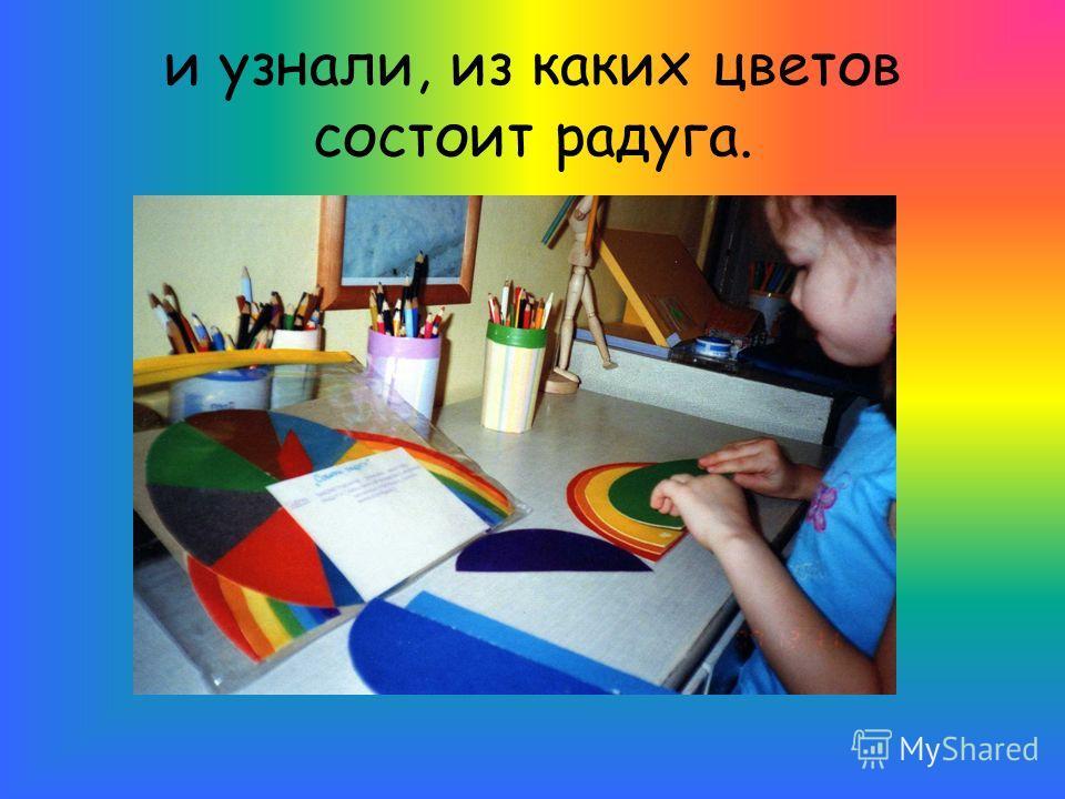 и узнали, из каких цветов состоит радуга.