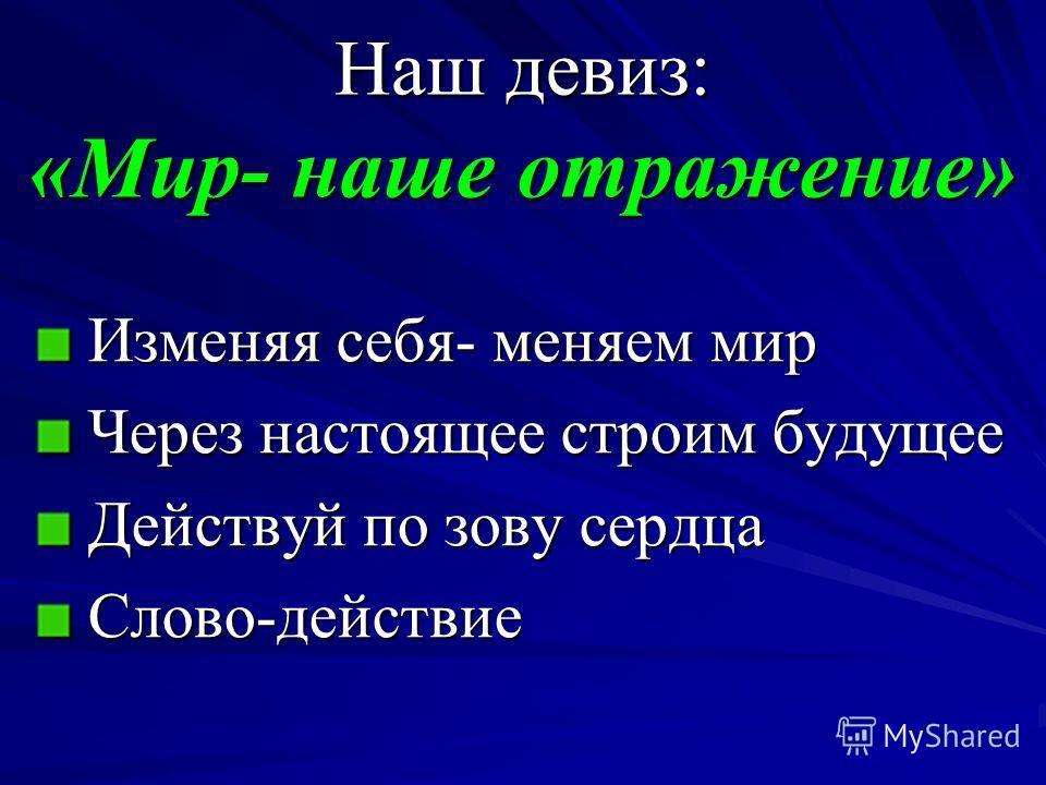 Детская общественная организация САО «ЗЕРКАЛО» «ЗЕРКАЛО» создана 11 декабря 1998 года. Живёт и работает на базе ГОУ СОШ 1121